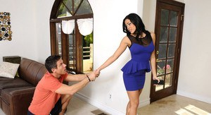 Luna Star gets recruited by her friends brother to fuck and take to the dance.