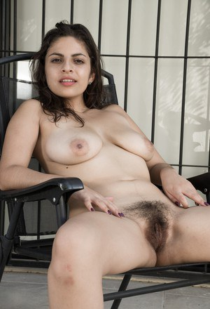 On her terrace Anastasia Cherry is a Panamanian vision. Her lingerie comes off and