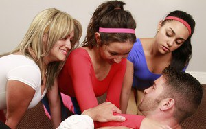 Stephanie Moretti and her best friends love their aerobics class. They never miss