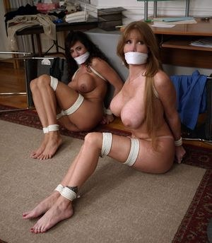 Two Secretaries All Naked And Damsel In Distress